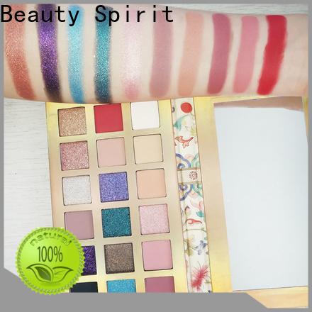 Beauty Spirit factory direct high pigment eyeshadow best factory price manufacturer