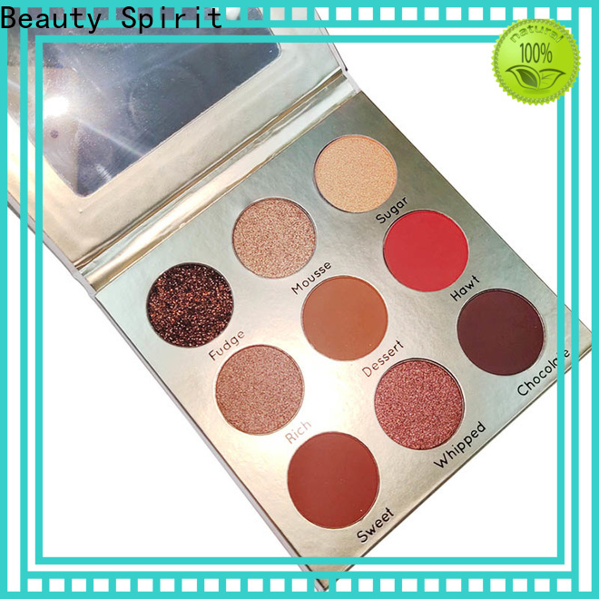 Beauty Spirit customized eyeshadow palette sale natural looking manufacturer