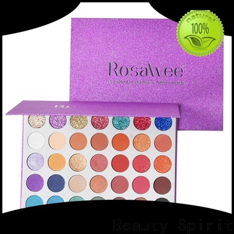 customized wholesale eyeshadow palette long-lasting manufacturer