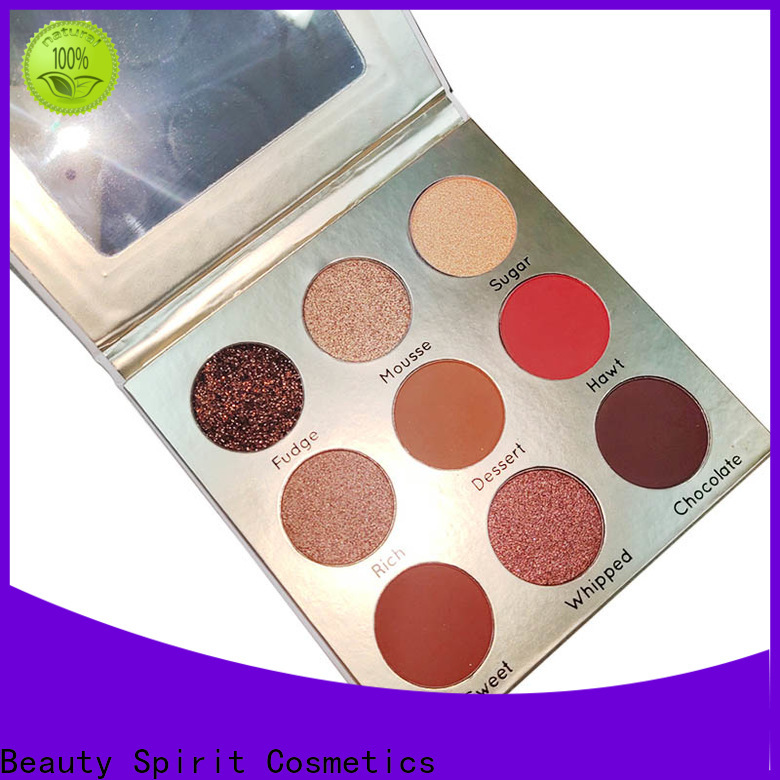 customized private label eyeshadow palette best factory price free sample