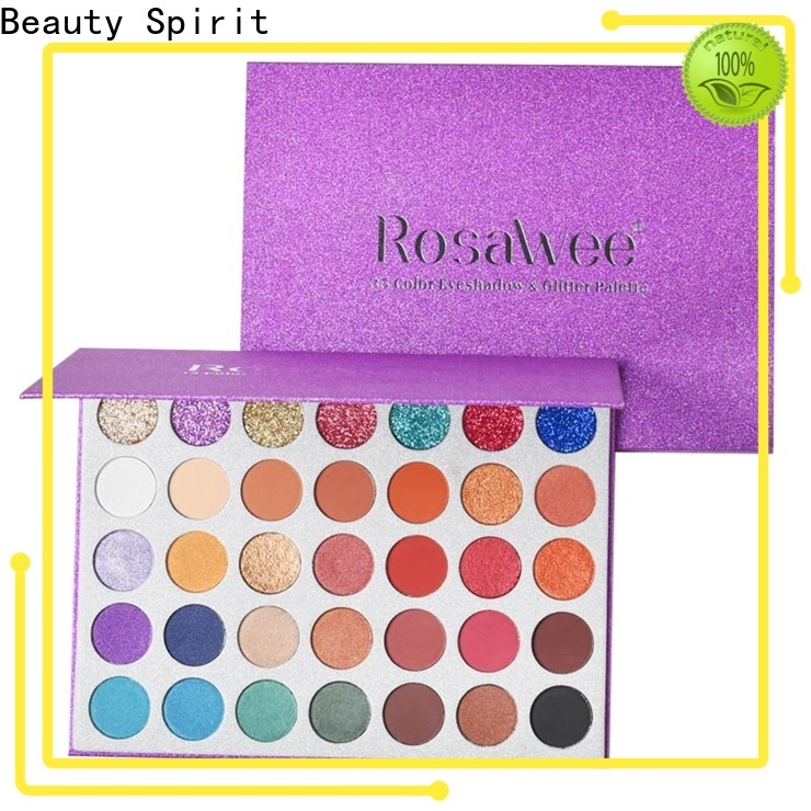 customized shimmer eyeshadow palette best factory price manufacturer