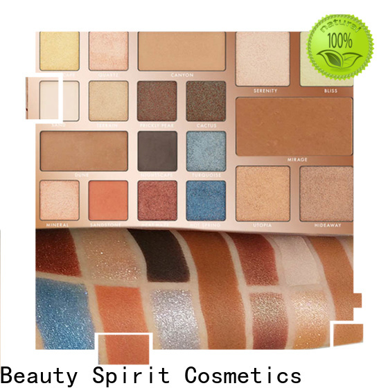 factory direct most popular makeup palettes natural looking free sample