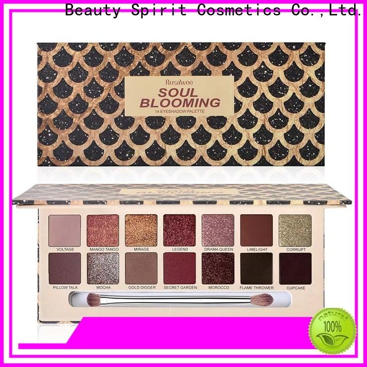 Beauty Spirit best selling eyeshadow palette long-lasting free sample