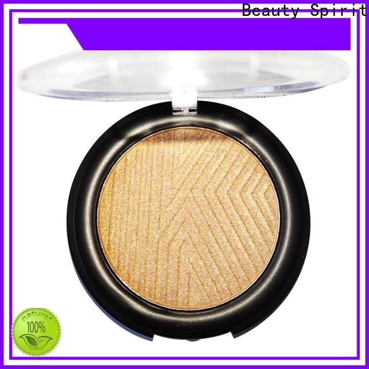 Beauty Spirit free sample cheek shimmer makeup highlighter manufacturer comfortable China