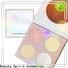 Beauty Spirit free sample cheek shimmer makeup highlighter manufacturer skin-friendly China