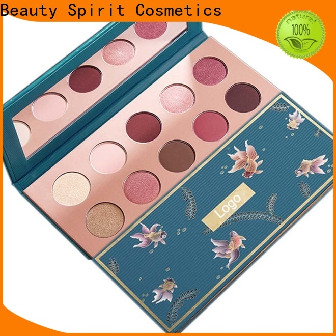 Beauty Spirit 2020 top-selling recommended eyeshadow palettes best factory price manufacturer