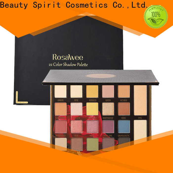 Beauty Spirit factory direct recommended eyeshadow palettes best factory price manufacturer