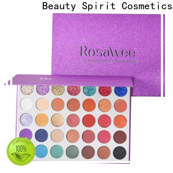 Beauty Spirit factory direct high pigment eyeshadow long-lasting manufacturer