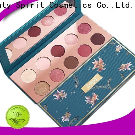 Beauty Spirit customized shimmer eyeshadow palette long-lasting manufacturer
