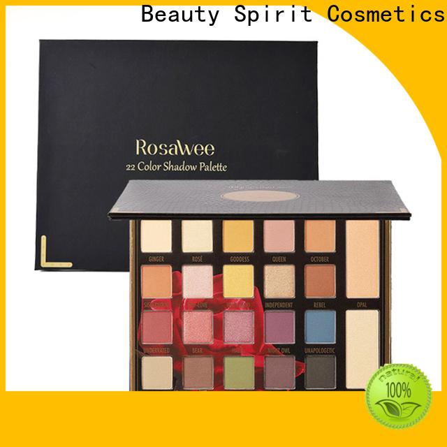 Beauty Spirit factory direct wholesale eyeshadow natural looking free sample