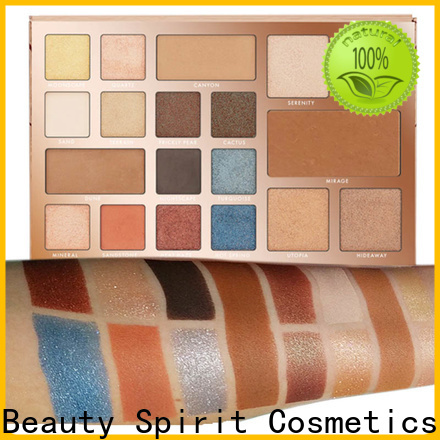 Beauty Spirit factory direct best selling eyeshadow palette best factory price manufacturer