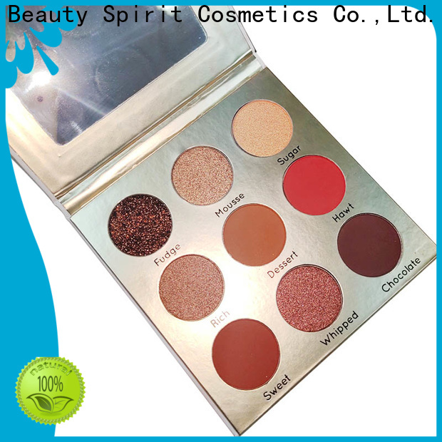 Beauty Spirit customized top eyeshadow palettes best factory price manufacturer