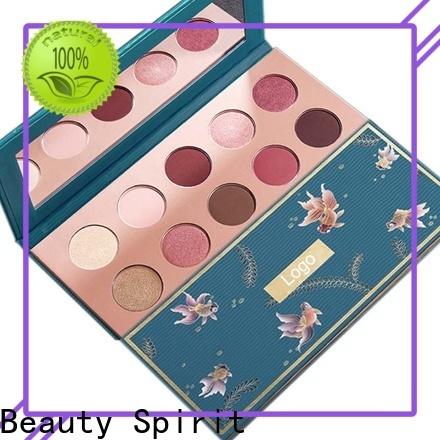 Beauty Spirit customized popular eyeshadow palettes best factory price manufacturer