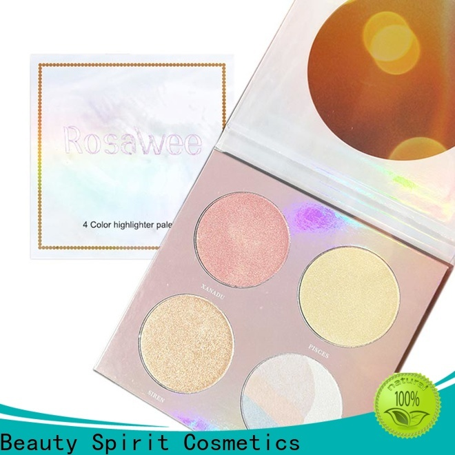 Beauty Spirit free sample face highlighter makeup skin-friendly for wholesale