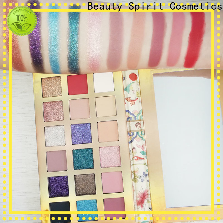 customized eye makeup palette best factory price free sample