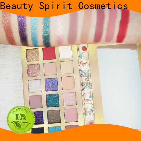 Beauty Spirit eye makeup palette natural looking free sample