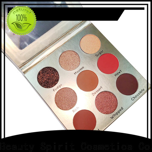 Beauty Spirit customized wholesale eyeshadow long-lasting fast delivery
