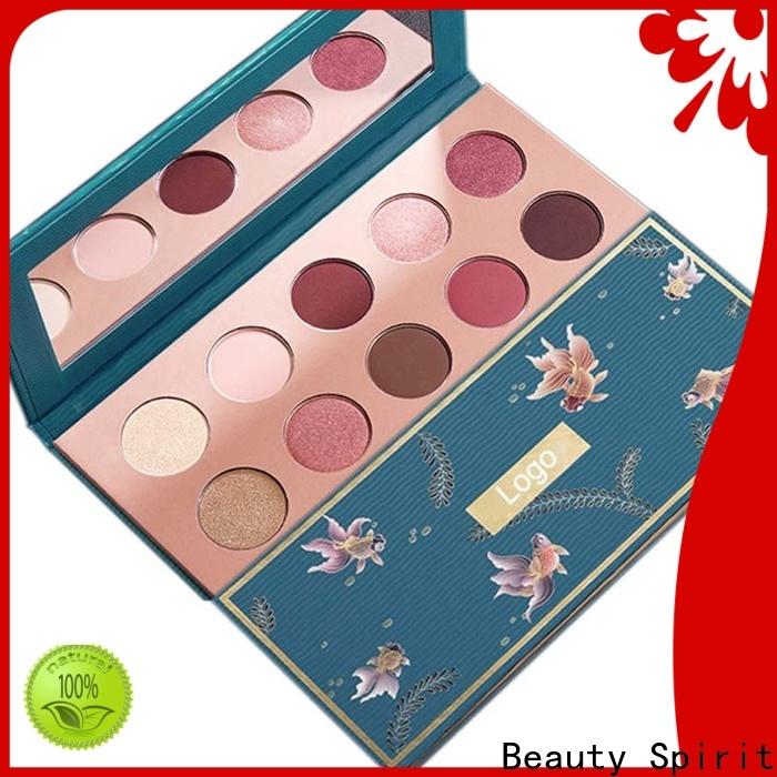 Beauty Spirit custom eyeshadow best factory price free sample