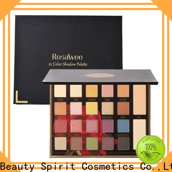 Beauty Spirit customized most popular makeup palettes natural looking manufacturer