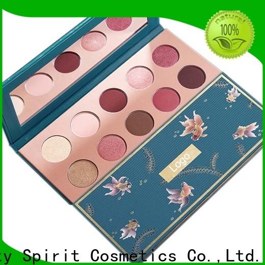 Beauty Spirit good eyeshadow palettes best factory price free sample