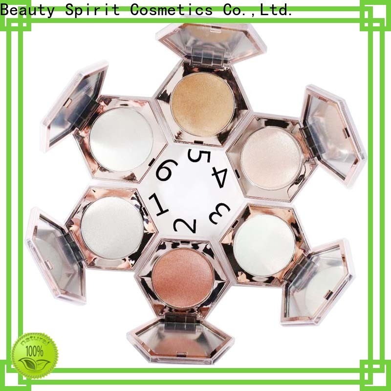 Beauty Spirit effective cheek shimmer makeup highlighter manufacturer comfortable