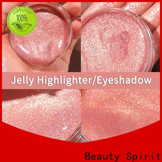 Beauty Spirit free sample best cheek highlighter skin-friendly for wholesale