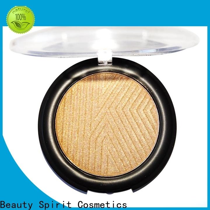 Beauty Spirit effective cheek shimmer makeup highlighter manufacturer comfortable China