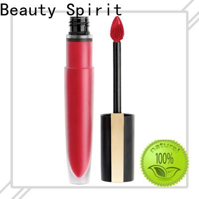 Beauty Spirit skin-friendly makeup lipstick free sample competitive price