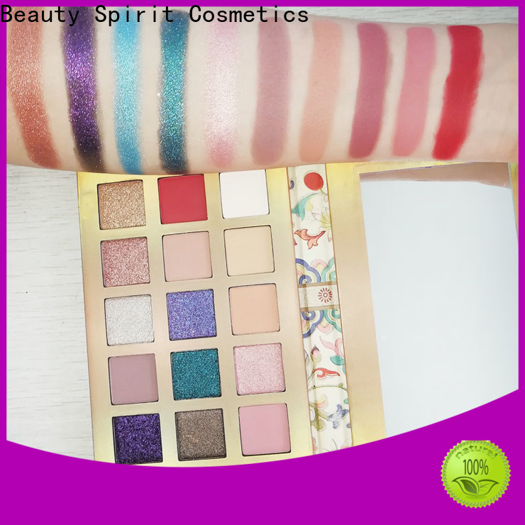 Beauty Spirit eye makeup palette natural looking fast delivery