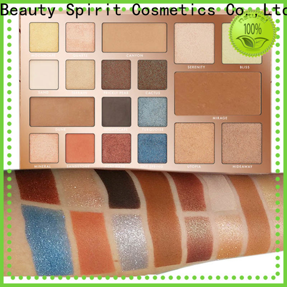 Beauty Spirit factory direct most popular makeup palettes natural looking manufacturer