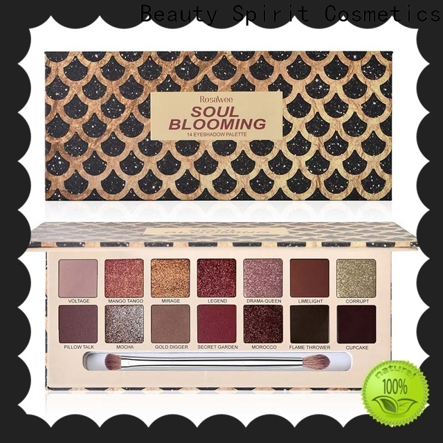 factory direct popular eyeshadow palettes natural looking free sample