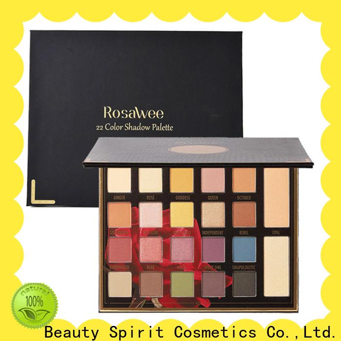 Beauty Spirit 2020 top-selling shimmer eyeshadow palette natural looking manufacturer