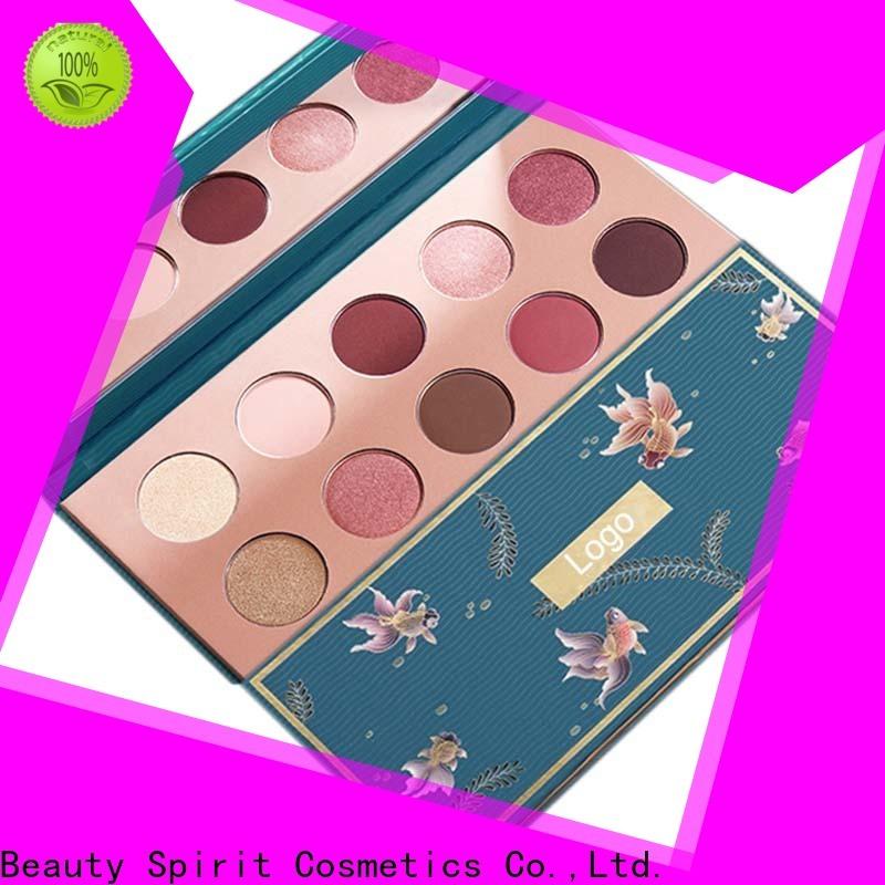 Beauty Spirit wholesale eyeshadow palette long-lasting free sample