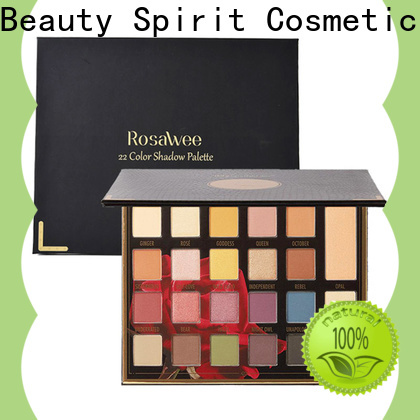 Beauty Spirit factory direct good eyeshadow palettes long-lasting fast delivery