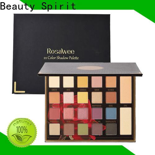 Beauty Spirit 2020 top-selling custom eyeshadow best factory price manufacturer