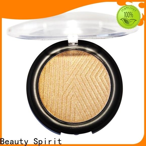 Beauty Spirit effective cheek shimmer makeup highlighter manufacturer skin-friendly China
