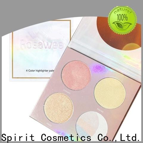 Beauty Spirit cheek shimmer makeup highlighter manufacturer bulk supply China