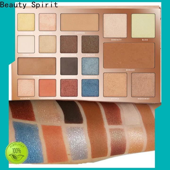 Beauty Spirit new eyeshadow palettes long-lasting free sample