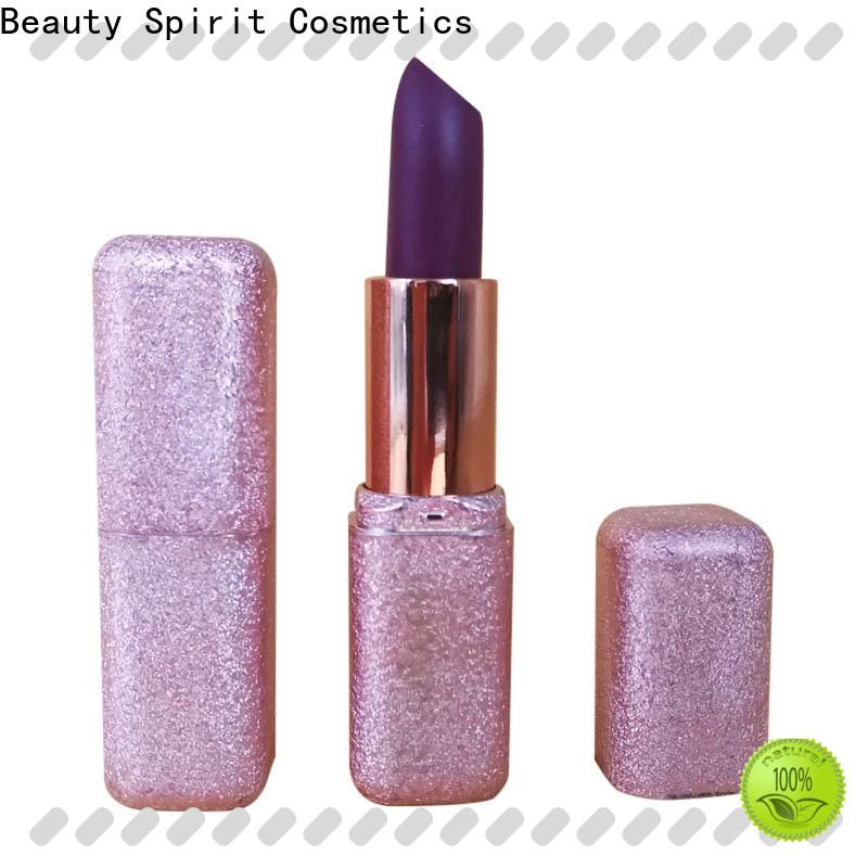 Beauty Spirit comfortable makeup lipstick custom competitive price