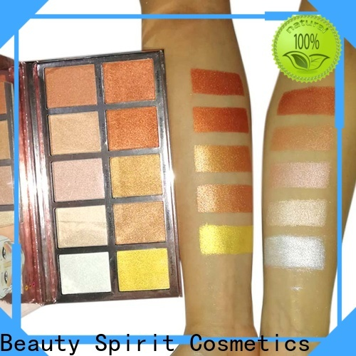 free sample face highlighter skin-friendly factory