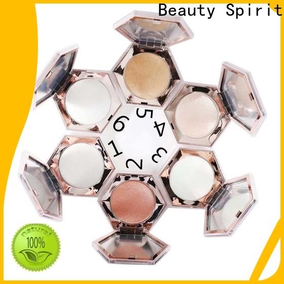 free sample cheek shimmer makeup highlighter manufacturer comfortable