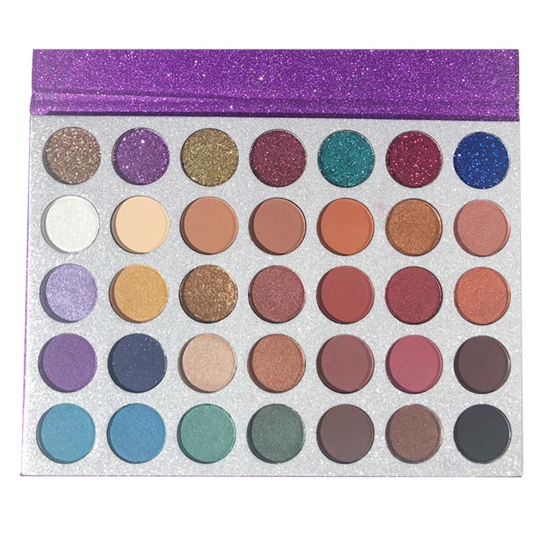 Beauty Spirit factory direct recommended eyeshadow palettes long-lasting free sample-1