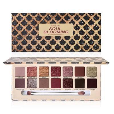 High Pigment /Soft /Smooth OEM Eyeshadow Palette Factory ES606